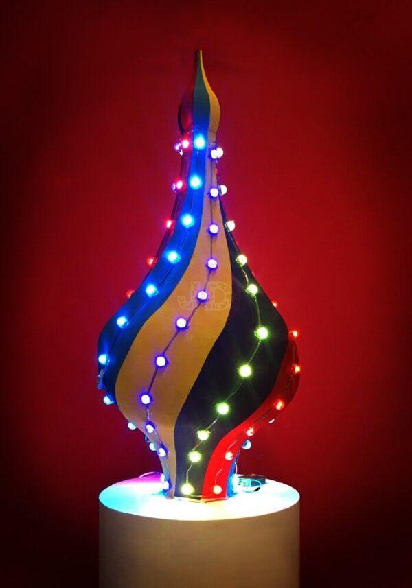 """Новогодняя верхушка на елку """"Купольная"""""""