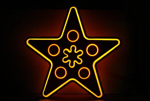 Авторская верхушка для елки «Звезда»