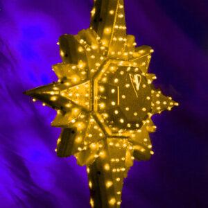 Макушка для елки «Полярная звезда» эконом