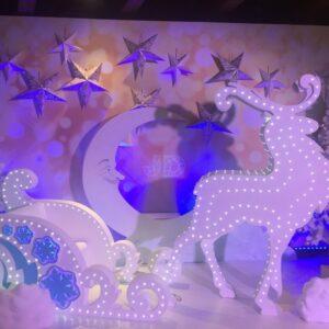 Новогодняя фотозона «Лунная ночь»