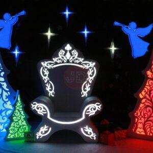 Новогодняя фотозона «Рождественское настроение»