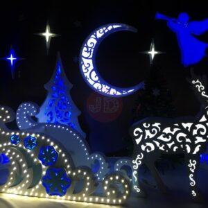 Новогодняя фотозона «Ночь перед Рождеством»