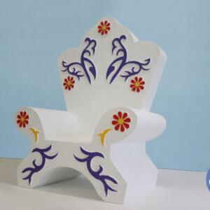 Новогодний трон «Принцесса»