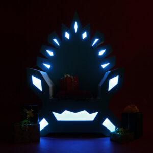 Новогодний трон «Снежной Королевы»