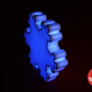 """Игрушка """"Снежинка светодиодная"""" модель 2"""
