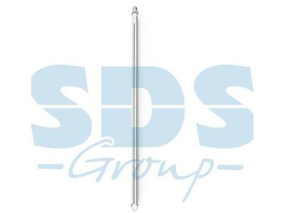 Сосулька светодиодная 30 см, 220V, e27, двухсторонняя, 24х2 диодов