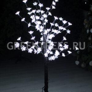 """Световое дерево """"Сакура"""" синее, высота 1,2м"""
