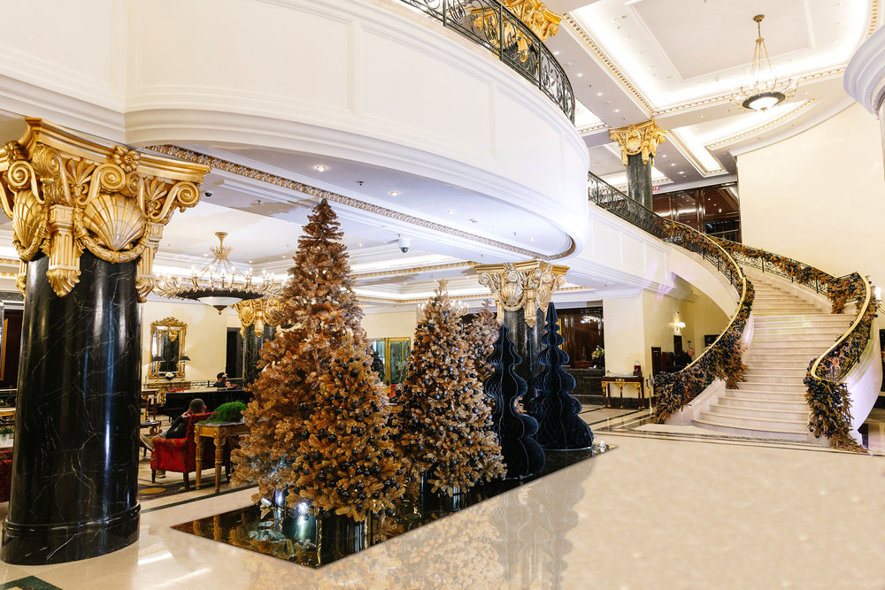 фото новогоднего фойе залов диплом специальности