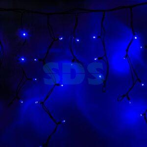 Бахрома 5,6 х 0,9 м, синий